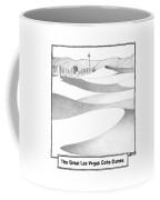 The Great Las Vegas Coke Dunes Coffee Mug