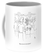 Why Can't You Ever Relax At Parties? Coffee Mug