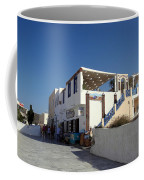 Views Of Santorini Greece Coffee Mug