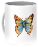 33 Opal Copper Butterfly Coffee Mug