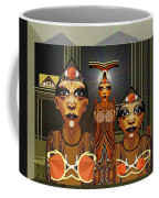 338 - Aliens With Egyptian Touch Coffee Mug