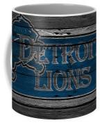Detroit Lions Coffee Mug