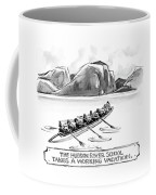 The Hudson River School Takes A Working Vacation Coffee Mug