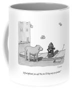 A Fire Hydrant Coffee Mug