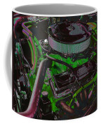 350 Battle Ax In Green Coffee Mug