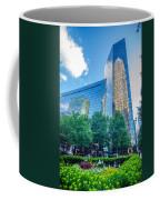 Skyline And City Streets Of Charlotte North Carolina Usa Coffee Mug