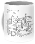 Elvin Perkins To Square E-5 Coffee Mug