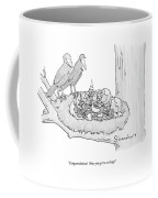 Congratulations!  Now You Get To Eat Bugs! Coffee Mug