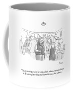 The Key To Being A Writer Is To Take All Coffee Mug
