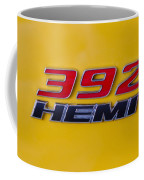 392 Hemi In Yellow Coffee Mug