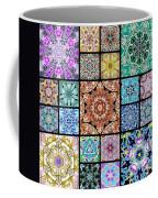 3d Cosmic Sample Grid Coffee Mug