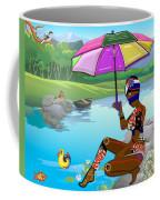 Girl By The Lake Coffee Mug
