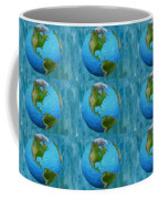 3d Render Of Planet Earth 1 Coffee Mug