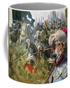 Chart Polski - Polish Greyhound Art Canvas Print Coffee Mug