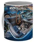1959 Chevy Corvette Convertible Painted  Coffee Mug