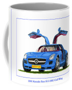 2010 Mercedes Benz S L S Gull-wing Coffee Mug