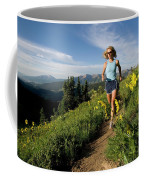 A Couple Trail Running Coffee Mug