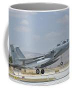 A Royal Saudi Air Force F-15 Coffee Mug