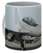 A Sukhoi Su-30mkm Of The Royal Coffee Mug