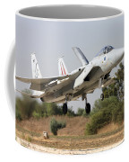 An F-15c Baz Of The Israeli Air Force Coffee Mug
