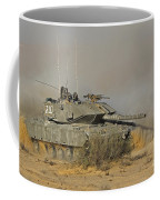 An Israel Defense Force Magach 7 Main Coffee Mug