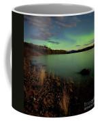 Aurora Borealis Northern Lights Display Coffee Mug