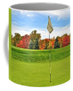 Autumn Golf Coffee Mug