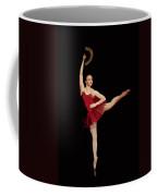 Ballerina Warhol Style Coffee Mug