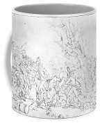Battle Of Princeton, 1777 Coffee Mug