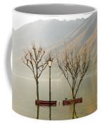 Benches And Trees Coffee Mug