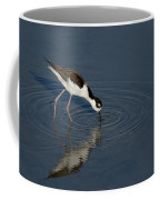 Black Necked Stilt Coffee Mug