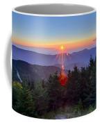 Blue Ridge Parkway Autumn Sunset Over Appalachian Mountains  Coffee Mug
