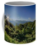 Blue Ridge Parkway National Park Sunset Scenic Mountains Summer  Coffee Mug
