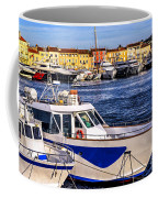 Boats At St.tropez Coffee Mug