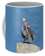 Brown Pelican Preening Coffee Mug