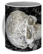 Celtic Skulls Symbolic Pathway To The Other World Coffee Mug