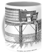 Census Machine, 1890 Coffee Mug