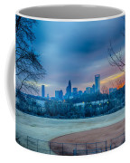 Charlotte The Queen City Skyline At Sunrise Coffee Mug
