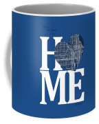 Chicago Street Map Home Heart - Chicago Illinois Road Map In A H Coffee Mug