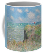 Cliff Walk At Pourville Coffee Mug