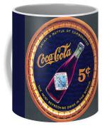 Coca - Cola Vintage Poster Coffee Mug