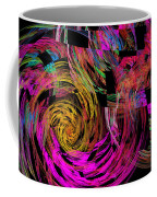 Colorful Psychedelic Abstract Fractal Art Coffee Mug