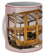 4 Door Vehicle Wood Frame Coffee Mug