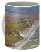 East Coast Aerial Near Jekyll Island Coffee Mug
