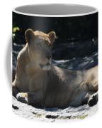 Female Lion Coffee Mug