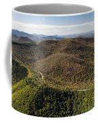 Graveyard Fields On The Blue Ridge Parkway Aerial Coffee Mug