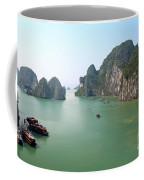 Halong Bay In Vietnam Coffee Mug
