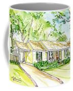 House Rendering Coffee Mug