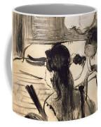 Illustration From La Maison Tellier By Guy De Maupassant Coffee Mug