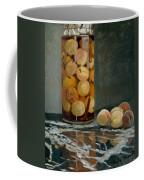 Jar Of Peaches Coffee Mug